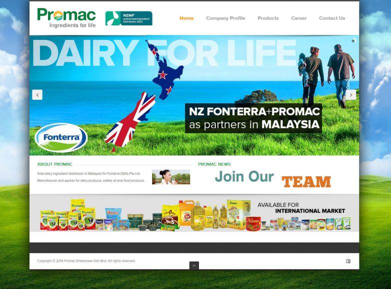 Promac International (Fonterra Malaysia)