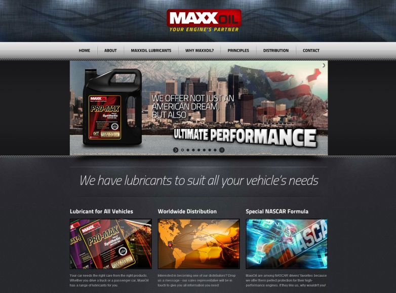 MaxxOil - Your Engine's Partner